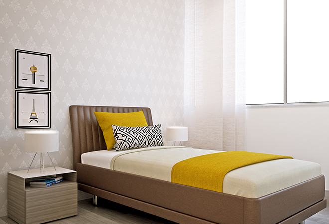 Best 15 small bedroom decorating ideas on a budget for Decorating rooms on a budget